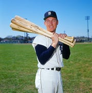 Al Kaline is pictured in 1964.