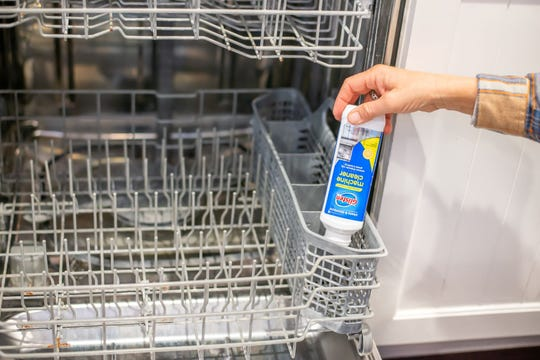 Glisten Dishwasher Magic Machine Cleaner (around $5) and Glisten Disposer Care Foaming Cleaner (around $4) are designed to deep-clean and bring out the peak performance of your dishwasher and garbage disposer.