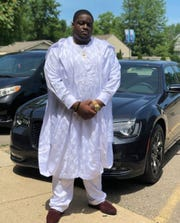 Bassey Offiong, a Western Michigan University student who died from Coronavirus.