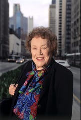 Julia Child, shown in this 1995 file photo. (Bob Fila/Chicago Tribune/TNS)