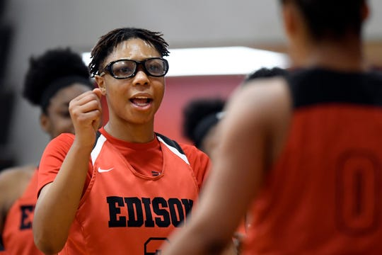 Detroit Edison's Gabby Elliott was named Michigan's Miss Basketball this season.