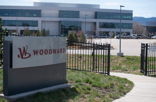 Woodward continues to operate during the coronavirus pandemic in Fort Collins, Colo. on Monday, April 6, 2020.
