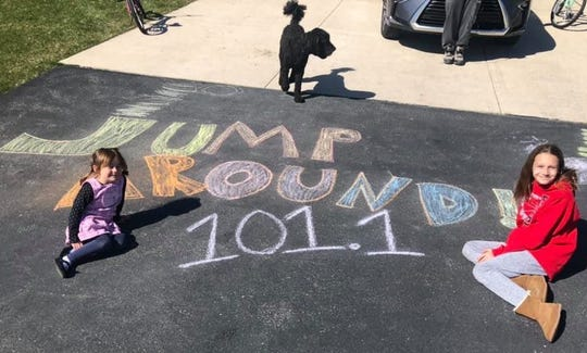 """WIXX-FM in Green Bay is among the stations around the state playing """"Jump Around"""" at 3 p.m. every Saturday to encourage people across Wisconsin to get outside and jump along as part of Jump Around Wisconsin"""