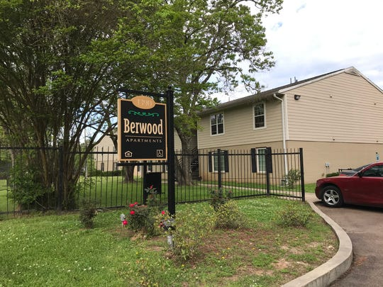 Berwood Apartments located on Forest Avenue in Jackson, Miss.