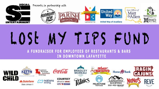 'Lost My Tips', a 14-day digital fundraising initiative, was created to help ease the burden of jobs lost to those in the service industry.