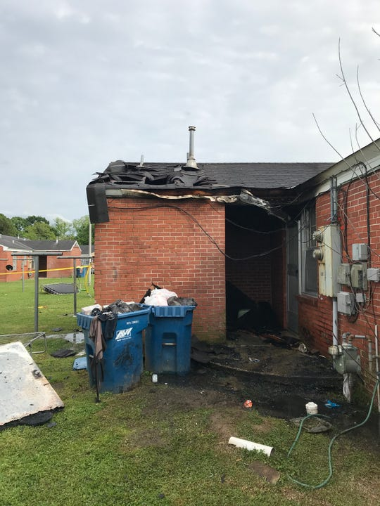A fire at the Simcoe Housing Complex was likely started by children playing in the laundry room, the Lafayette Fire Department said.