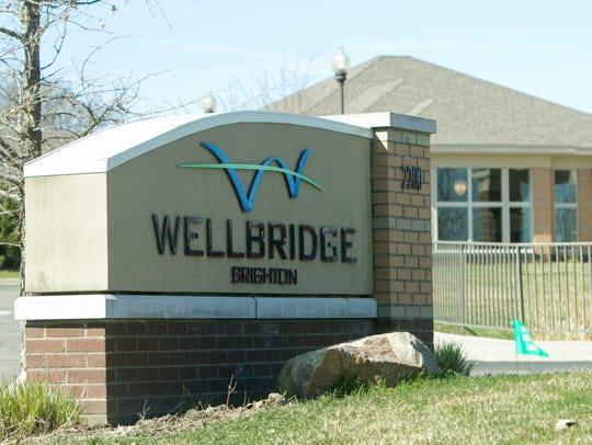 WellBridge of Brighton, shown Monday, April 6, 2020, has been patients test positive from COVID-19, officials said.