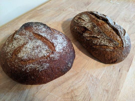 Stephen Blanchard's home-baked bread