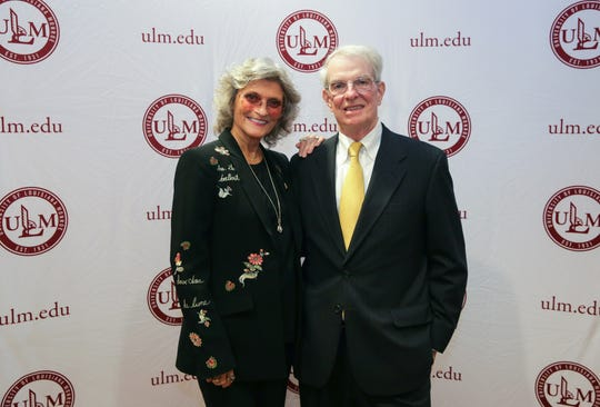 The David and Sharon Turrentine School of Management was named in the College of Business and Social Sciences at the University of Louisiana Monroe in honor of the Turrentines' donation of more than $1 million to the university. They were honored recently by the ULM Foundation and the university.