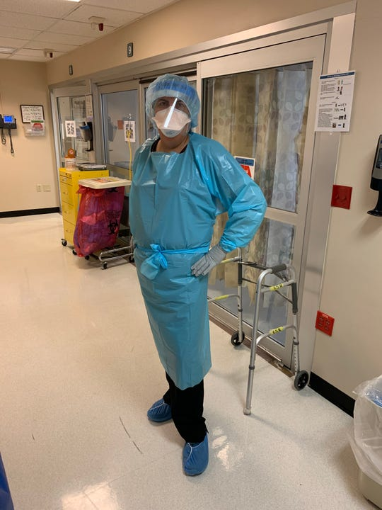 Maria in PPE