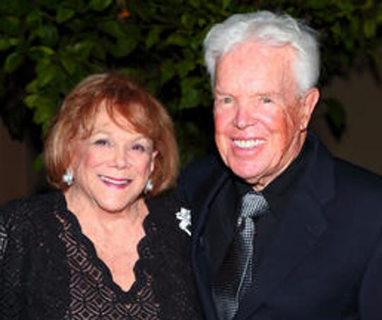 Philanthropist Arlene Schnitzer died in Portland, Ore.,  on Saturday, April 4, 2020. Schnitzer is shown here with Gerry Pratt at the 2014 McCallum Theatre gala.