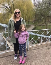 Candy and Zoe miss their spring adventures. Though they are thankful to walk through their neighborhood, many of the parks in the region are closed due to the coronavirus.