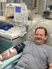 A Caddo deputy who recovered from COVID-19 is now helping other critically ill coronavirus patients by donating his plasma.