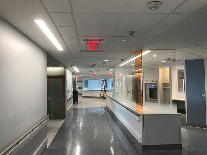 UVA Health System's new 86-bed hospital expansion, which was projected to complete in June but is now expedited, will provide crucial additional capacity. Fifteen of those new beds opened Thursday, especially designed to care for COVID-19 patients.