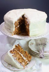 With a pound of carrots, this cake delivers sweet nutrition.