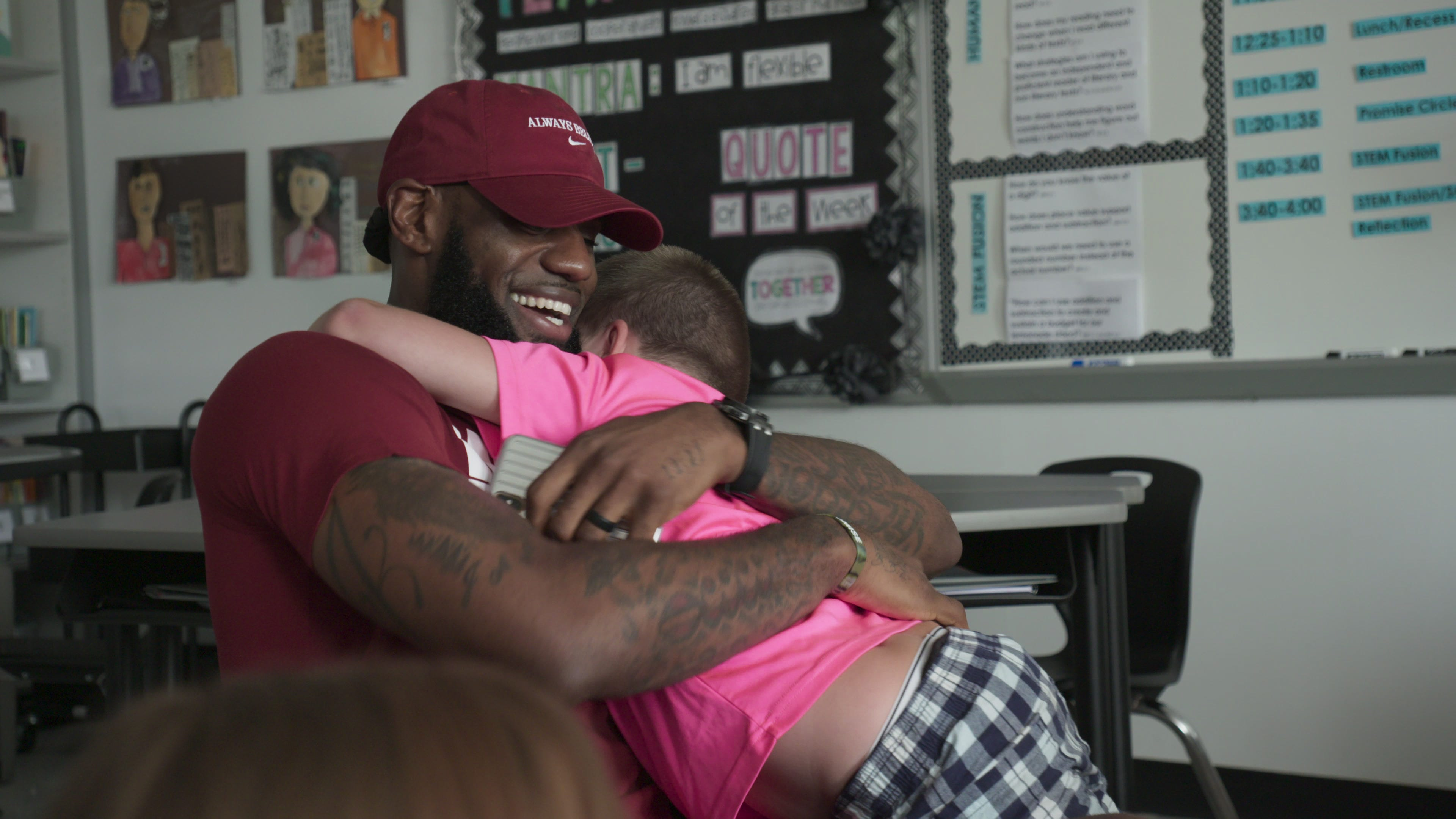 LeBron James produced 'I Promise' documentary debuts Monday on Quibi