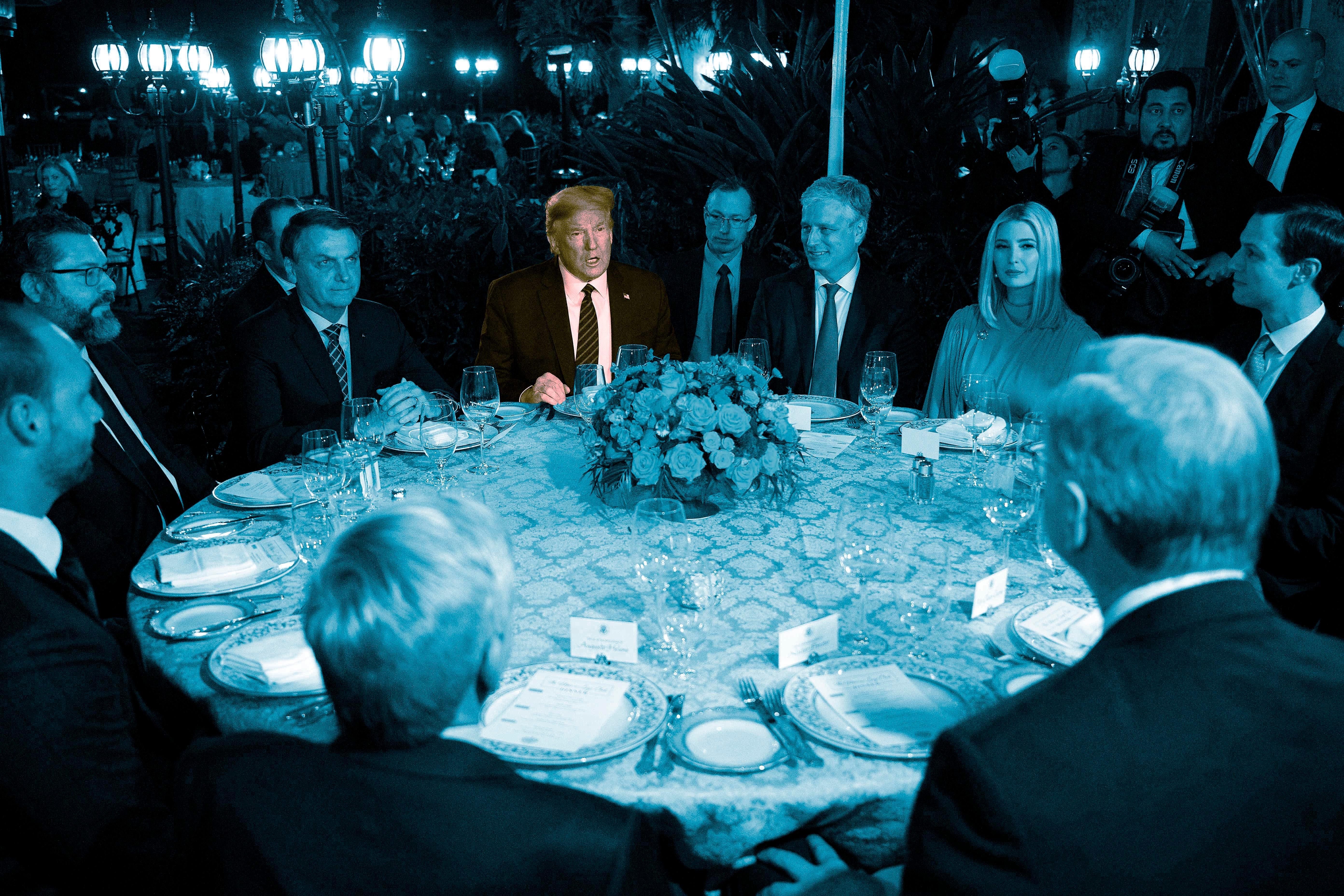 Trump dinner at Mar-a-Lago