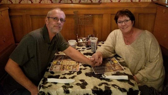 Kenneth and Michelle Anglin, of Highlands County, Florida. Both were badly sickened by what they believe was COVID-19 but were not tested.