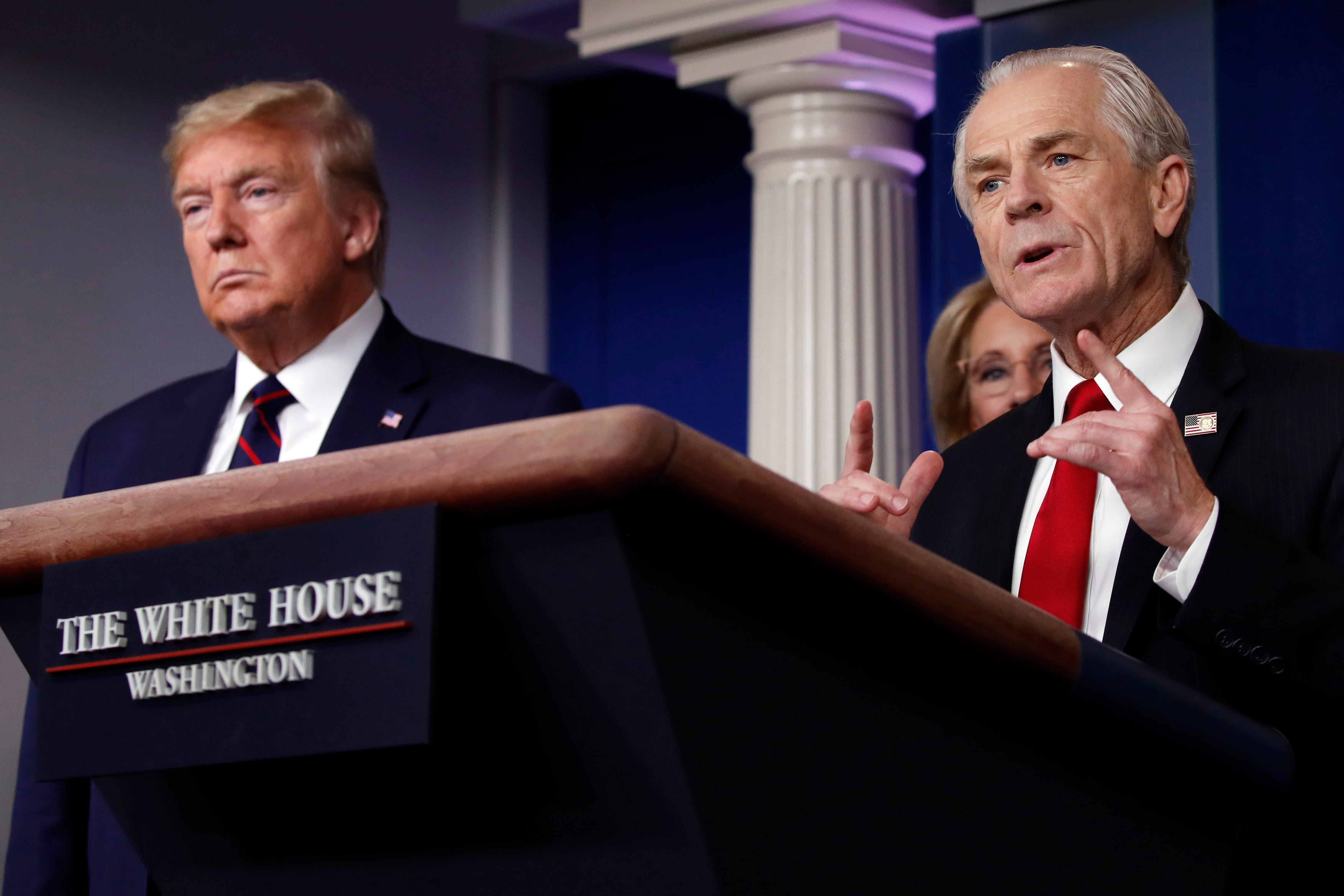Trump aide Peter Navarro says  second opinion  needed on Fauci s view of anti-malaria drug