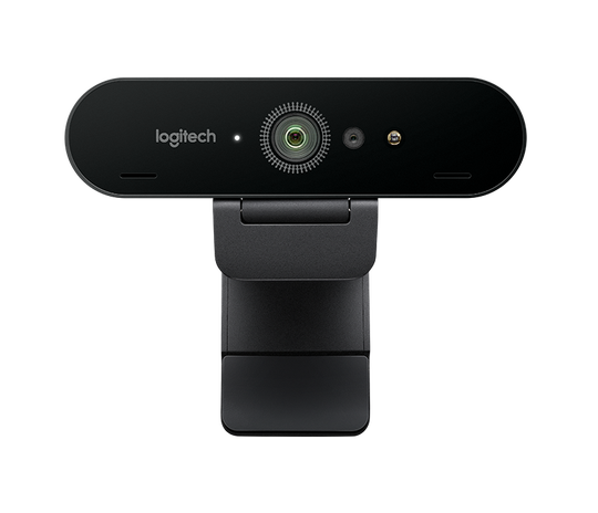 Logitech Brio is a webcam with 4K resolution