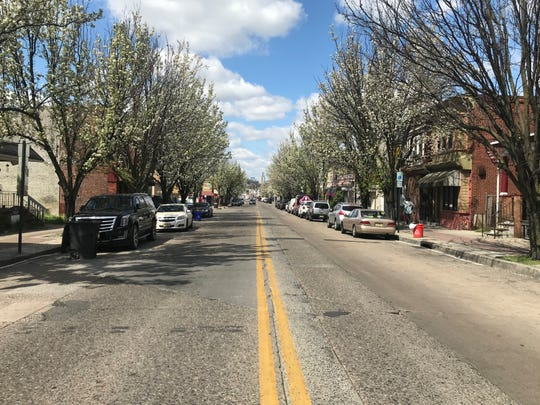 Police say Camden streets, like Haddon Avenue in the Parkside section, were more peaceful even before imposition of a stay-at-home order.