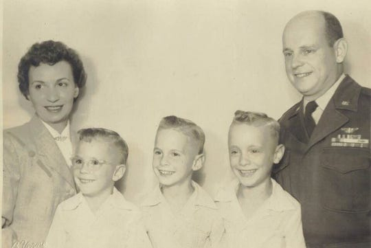 A young Bill Rubel with his brothers Tom and Randy, and their parents William and Betty Joan Rubel. On Friday, April 3, 2020, Bill Rubel became the first reported Montgomery County death due to the coronavirus.