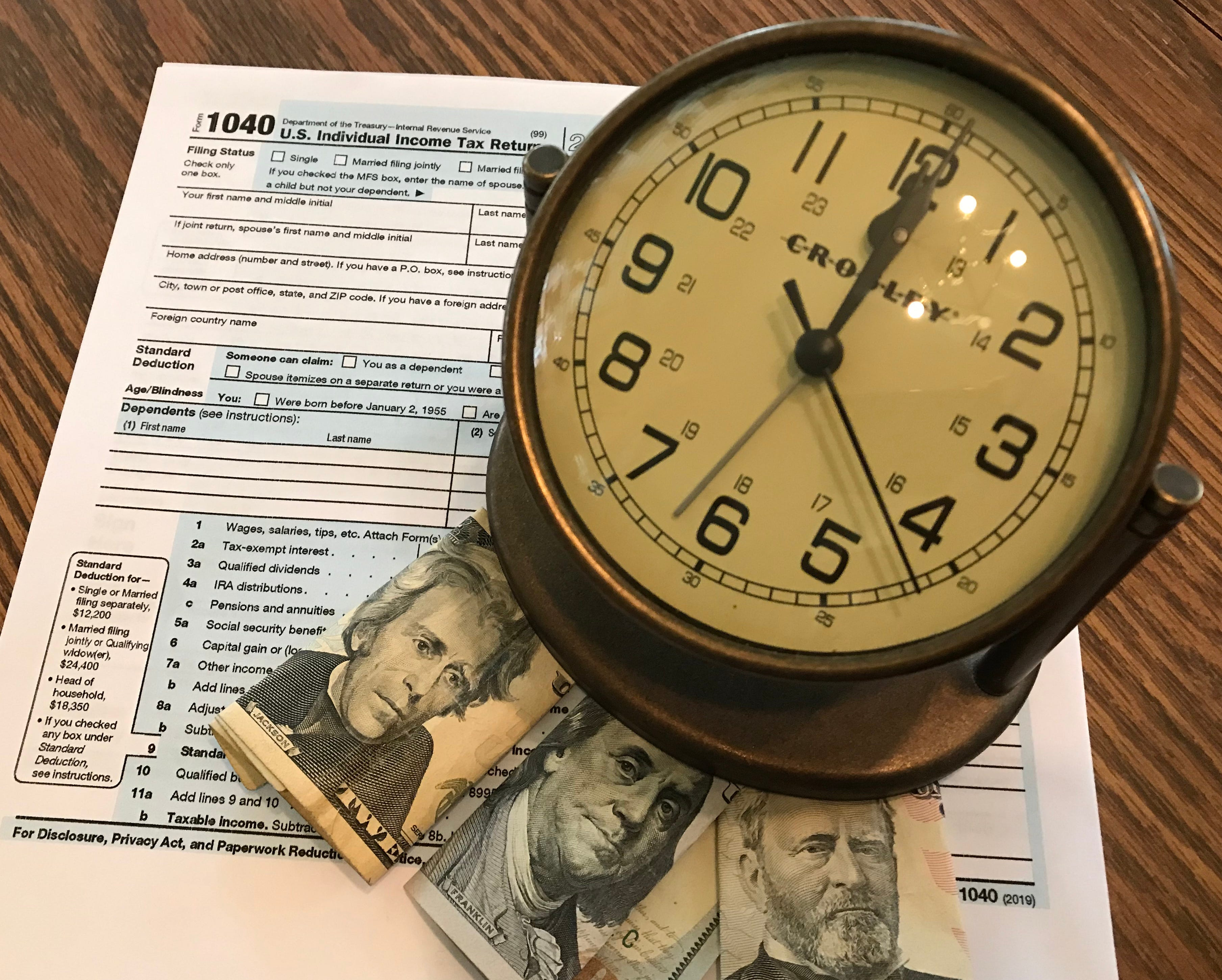 Wait, it's April 15: When are my income taxes due?