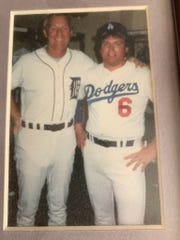 Bob Wojnowski rubbed shoulders with Mr. Tiger during a baseball fantasy camp in Florida in 1986.
