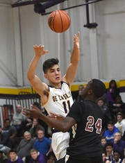 De La Salle's Josef Gjonaj had a solid senior season, averaging 16.5 points, seven rebounds and three assists to lead De La Salle to a 13-8 record and district final appearance.