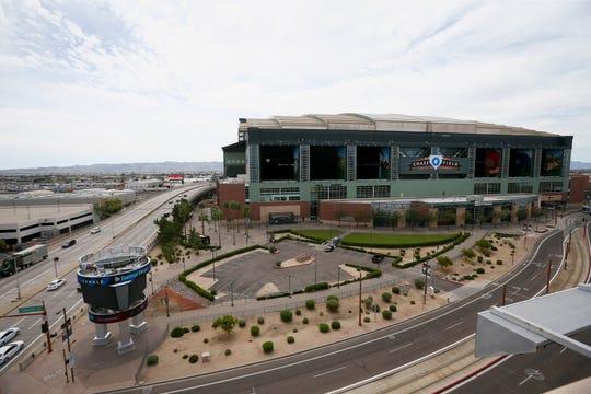 Chase Field in Phoenix is the regular-season home of the Arizona Diamondbacks.