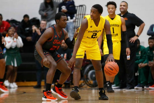 Detroit King's Chansey Willis (2) averaged 19.5 points, eight assists, four rebounds and two steals this season.