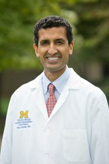 Dr. Vikas Parekh is associate chief clinical officer for Michigan Medicine's adult hospitals and professor of internal medicine.