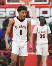 Julian Roper Jr. averaged 18.3 points, 7.6 rebounds and 2.6 steals to help Orchard Lake St. Mary's win the Catholic League championship.