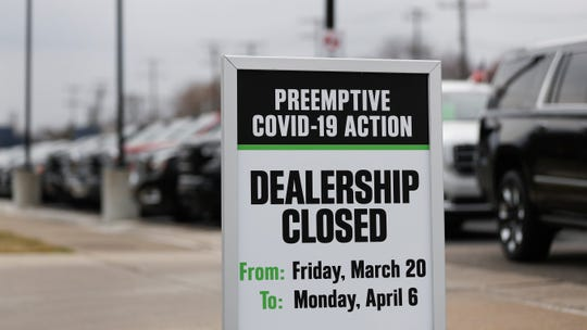 With idle factories and locked dealerships, the auto industry is looking to Washington for help to weather the crisis and get customers back in showrooms after the COVID-19 storm passes.