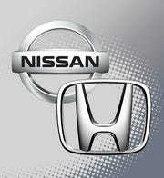 Nissan is laying off about 10,000 workers while Honda will stop paying roughly 14,400 U.S. employees through May 1.