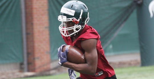Oak Park running back Davion Primm verbally committed to Michigan State.