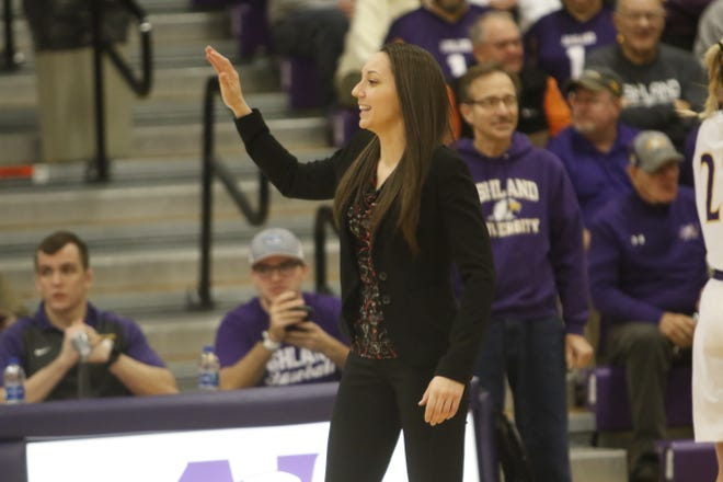 Ashland women's basketball assistant coach Stephanie Gehlhausen has become sort of a rising star in the Division II coaching ranks. She was recently named the WBCA D2 assistant of the year and was a finalist for the World Exposure women's assistant coach of the year.