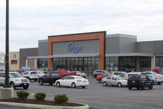 Fremont's Kroger store has put place a number of temporary policies to help minimize coronavirus risks. A sign by the store's front entrance Tuesday said Kroger has worked to reduce store occupancy by 50% at the Fremont location.