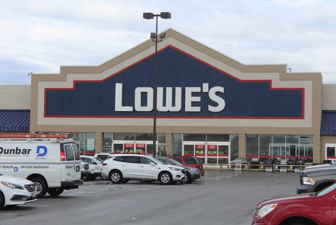 Stores like Lowe's Ohio 53 location in Fremont are putting temporary limits on store occupancy to encourage social distancing and minimize coronavirus risks. The Fremont Lowe's store has a maximum customer occupancy of 100, with a maximum occupancy of 50 in its garden center.