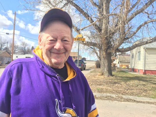Clifford Leslie, 86, of Shelby shares his thoughts about COVID-19 in his town.
