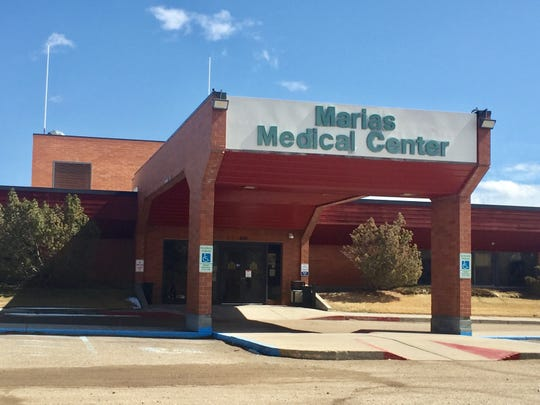 The Marias Medical Center in Shelby.