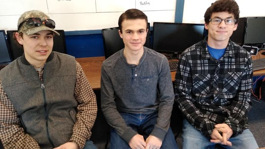 Alex Schuman, Reese Broadbent and Paxton Lauver, juniors at Foothills Community Christian School in Great Falls, received 3rd prize in the Western Division for the annual C-SPAN Student Cam documentary competition.