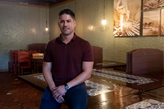 Cesar Ruiz, owner of Cancun Mexican Grill & Cantina in South Knoxville on Tuesday, April 7, 2020.
