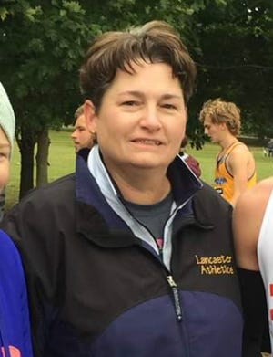 Lancaster's Pam Bosser was named 2019-2020 Central Ohio Athletic Director of the Year by the Ohio Interscholastic Athletic Administrators Association.