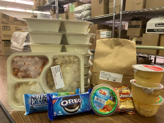 During the ongoing coronavirus pandemic, Meals on Wheels of Fairfield County has created a program to distribute emergency food packs for self-isolating seniors who don't usually use their service.