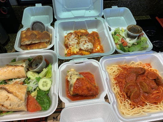 A takeout order from Davide, Marco Island.