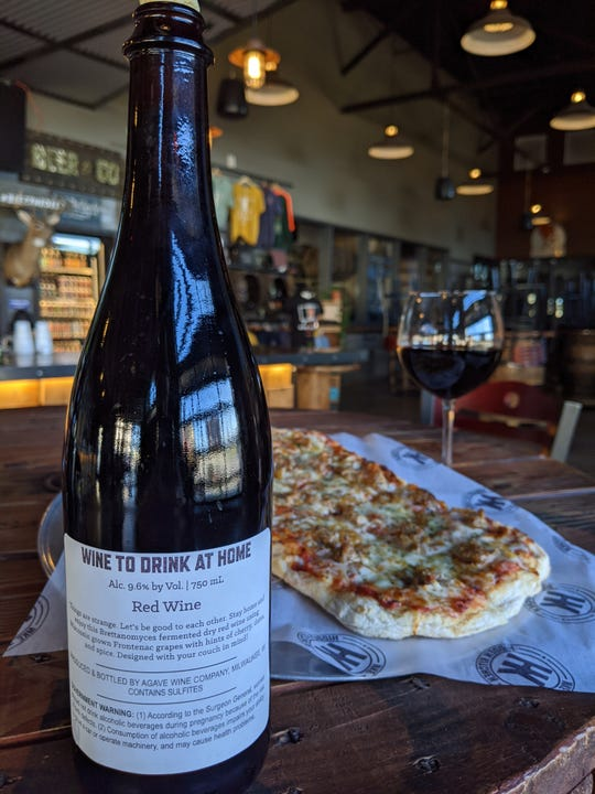 MobCraft Beer offers wine by the bottle for delivery. MobCraft has been making wine since 2018, but the coronavirus was the incentive to get it to the public.