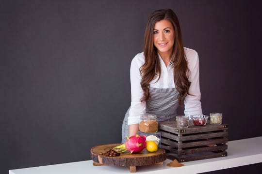 Cindy Poiesz developed the Supernola line of healthy snacks.