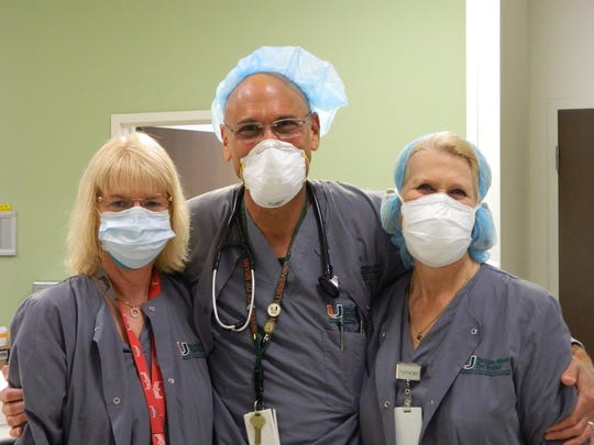 Doctors with the Bascom Palmer Eye Institute, in collaboration with the Neighborhood Health Clinic and the Richard M. Schulze Family Foundation, recently performed surgery, free of charge, to re-attach the retina of a Naples woman.