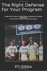 A screenshot from Amazon.com of the book written by Palmetto Ridge High School defensive coordinator P.J. Gibbs.